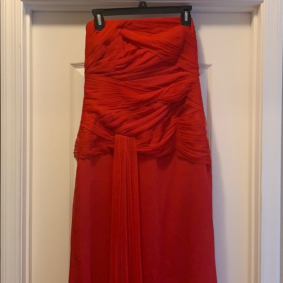 Vera Wang Dresses & Skirts - BEAUTIFUL RED VERA WANG DRESS SIZE 10